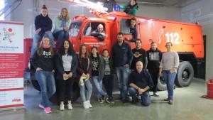 Teilnehmende an der Grundqualifikation im feuerwehr-erlebnis-museum Hermeskeil